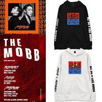 Kpop IKON Bobby Cap Hoodie THE MOBB Winner Minho Sweatershirt Pullover Sweater