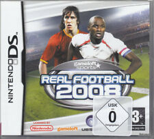 Real Football 2008  (NDS) In Box, mit Anleitung