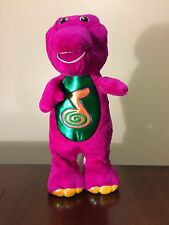 "13"" Dino Dance Barney Plush Dancing, Singing, Talking Barney Toy DOESN'T WORK"