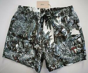 🆕️ $480 Authentic BRIONI Multi-Printed SWIM Shorts Trunks Swimwear XXL/2XL