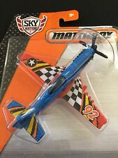 MATCHBOX SKYBUSTERS STUNT PLANE 2014 Mattel Age 4+