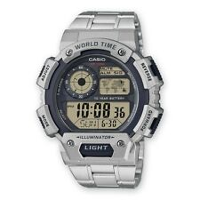 Casio Collection Uhr AE-1400WHD-1AVEF Digital Silber