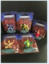 Masters of the Universe - Set of 5 - HE-MAN, SKELETOR,ORKO,MER-MAN, MAN-AT-ARMS