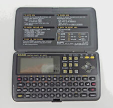 Casio SF-4600 64kb Digital Diary Organizer with Manual Tested and Working