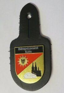 BAHNPOLIZEIAMT KÖLN Polizei Abzeichen 1990er Badge Brust Abzeichen Anhänger BaPo