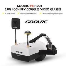 VR HD01 5.8G 40CH FPV Goggles Video Glasses for QAV250 FPV Drone A3W0