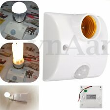 Energy Save Infrared PIR Motion Sensor Detector Delay Switch Lamp LED Holder