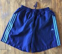 ADIDAS CLIMA PROOF Women's Navy Blue Shorts Size XL, Pockets!