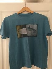 BILLABONG Blue T-Shirt - Size Boy's Large - In Very Good Condition