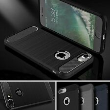 Ultra Slim Shockproof TPU Bumper Case Cover + Tempered Glass For Various Phones
