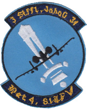 81st Tactical Fighter Wing TFW Detachment 4 US Air Force USAF Embroidered Patch