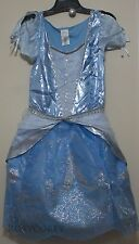 Disney Store Adult Womens Blue Cinderella Dress Costume Size Medium NWT