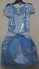 Disney Store Adult Womens Blue Cinderella Dress Costume Size Large NWT