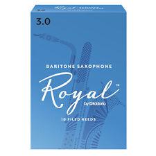 ROYAL BY D'ADDARIO ANCHES SAXOPHONE BARYTON 3 - Boite de 10