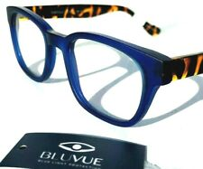 蓝色光阻塞时尚读卡器电脑游戏眼镜 Tortola 蓝色龟