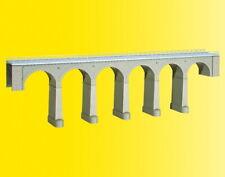 Kibri 39724 H0 Aachtal-Viadukt mit Eisbrecherpfeilern, eingleisig
