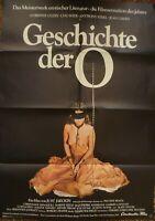 JUST JAECKIN + DIE GESCHICHTE DER O. + CORINNE CLÉRY + ANTHONY STEEL +