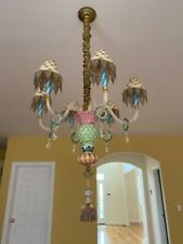 mackenzie-childs chandelier perfect condition 4 lights