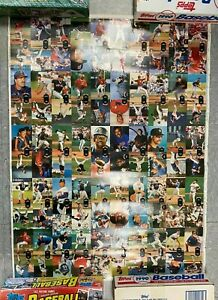 "1992 TOPPS BASEBALL CARDS SERIES 2 BOARD 2 30X40"" UNCUT CARD SHEET PB25"