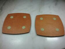 """2 Epicurean Non-Slip Cutting Boards, Double Sided 8""""×8"""". Portable, Smaller Size"""