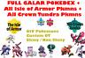 ✨Pokemon Sword & Shield Crown Tundra Isle of Armor Complete Pokedex 6IV Shiny✨