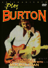 ArtsMagic PLAY THE JAMES BURTON WAY Chicken Pickin' Guitar Video Lessons DVD