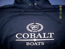 Cobalt Boats Screen Printed Hooded Sweatshirt 9.3 oz. Heavy Weight