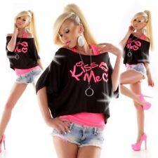 Camisas y tops de mujer de manga corta blusa de viscosa/rayón