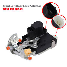FOR Chevrolet GMC Front LH Drivers Door Latch w/ Actuator & Ajar switch 15110643