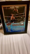 More details for limited edition signed seth rollins plaque