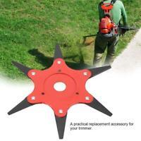 6Steel Blades Razors 65Mn Lawn Mower Grass Eater Trimmer Head Brush Cutter