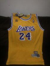 Kobe Bryant Vintage Hardwood Classic Gold Jersey; LA Lakers #24; Size Medium