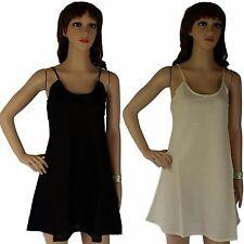 100% COTTON SLIP Dress NEW Short Petticoat Size 12 14 16 18 20 AUSTRALIAN Seller