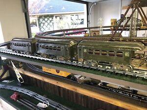 Lionel 35, 35, 36 Prewar Standard Gauge Pullman, Observation Cars. 3 piece set