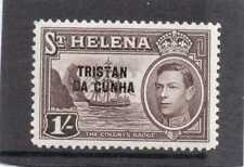 Lightly Hinged Single Tristanian Stamps