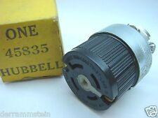 "Hubbell 45835 Super Twist Lock Variload 3"" Connector 250V-30A/600V-30A t2"