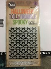 Halloween Toil & Trouble Spooky Bats Sizzix Tim Holtz Die & Embossing Folder Set