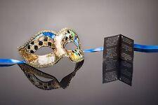 original venezianische Maske Karneval, Maskenball, Augenmaske Handmade bunt