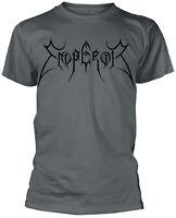 EMPEROR Classic Band Logo Shield T-SHIRT OFFICIAL MERCHANDISE