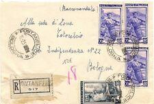 P8400  Bologna, Fontanelice, raccomandata per bologna, 1951