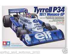 Tyrell P34 Six Wheeler Monaco GP'77 1:20 Plastic Model Kit by Tamiya