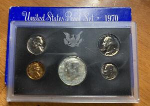 1970-s  U.S.Proof set. US Mint.