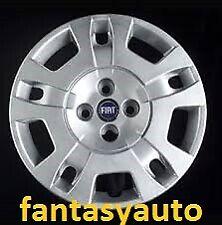 """Fiat Idea Borchia Coppa Coppone Ruota Copricerchio 15""""  Logo Blu 1265"""