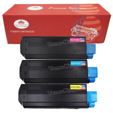 3 Multi-Pack C5100 Color Toner Set H.Y For Okidata OKI C3100  C3151 C3200 C3200N