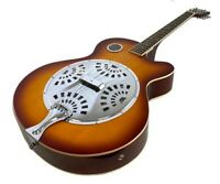 RESONATOR GUITAR Acoustic-Electric SEPELE SPRUCE  with Hardshell Case