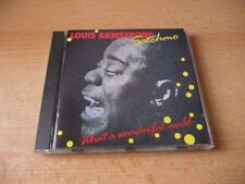 CD Louis Armstrong - Satchmo - What a wonderful world - 1988 - 16 Songs