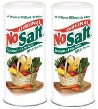 NoSalt Original Sodium-Free Salt Alternative 2 Bottle Pack