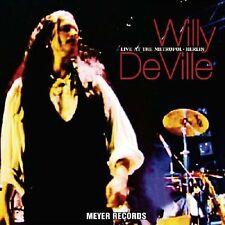 Willy Deville/Live at the réalisait, Berlin - 2 VINYLE LP 180 g audiophil