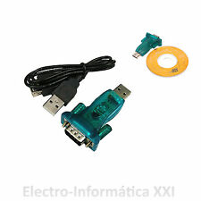 CABLE ADAPTADOR DE USB 2.0 A RS232 SERIE - USB 2.0 TO RS232 SERIAL9 PIN 9P DB9