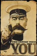 Poster RETRO ART - Your Country Needs You NEU 57457